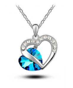 Heart Crystal Jewelry