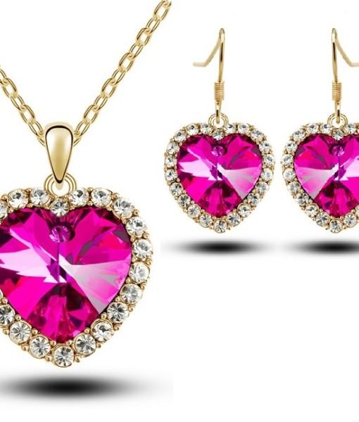 4843-heart-necklace-earring-set