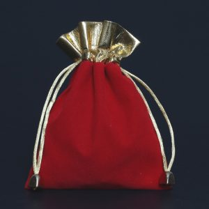 Red pouch blank