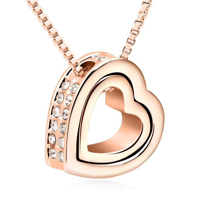 Eternal Love Heart Pendant