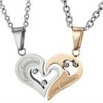 Love Devotion Couple Matching Pendant