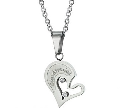 Love Devotion Couple Matching Pendant
